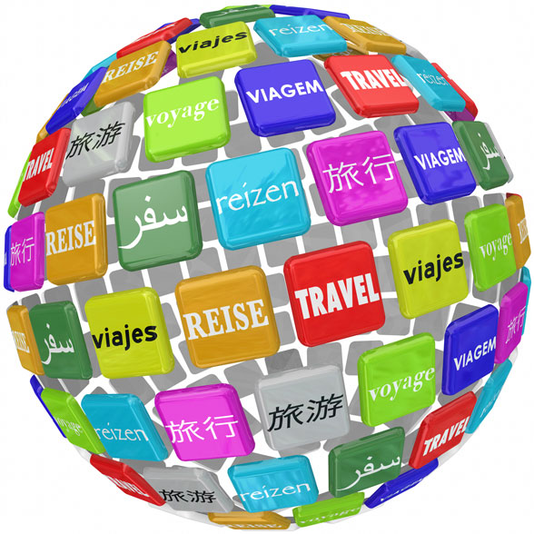 travel in many languages